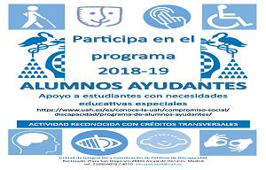 <p>Apoyo a estudiantes con necesidades educativas especiales.</p>  <p>Actividad reconocida con cr&eacute;ditos transversales.</p>