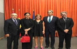 <p>Ceremonia de graduaci&oacute;n IV promoci&oacute;n de CCAFYDE, 30 de junio 2017</p>