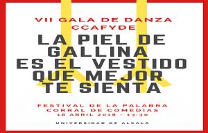 <p>FESTIVAL DE LA PALABRA</p>  <p>CORRAL DE COMEDIAS</p>  <p>18 DE ABRIL DE 2018 A LAS 13.30</p>